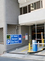 67 Astor Tce car park, entry via Cousins St